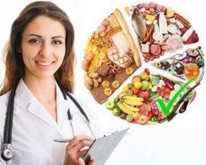 врач назначает диету