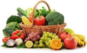 фрукты да овощи
