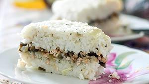 шарлотка из риса
