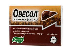 таблетки Овесол