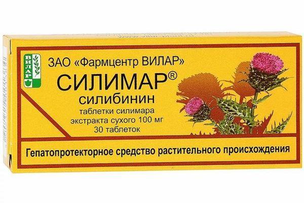 таблетки Силимар