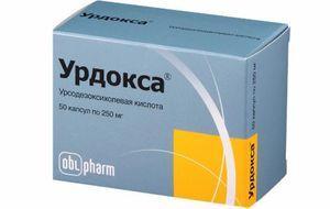 таблетки Урдокса