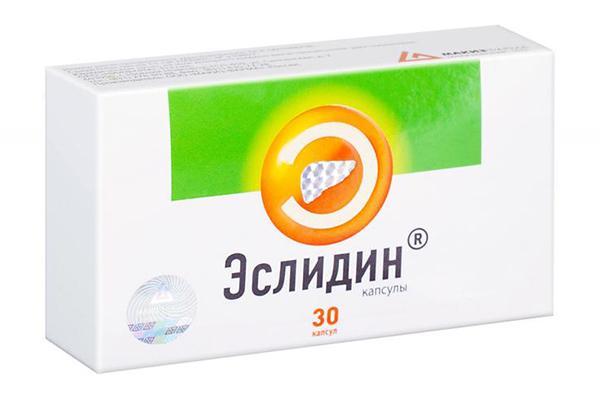 таблетки Эслидин