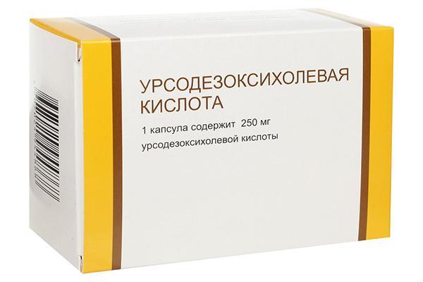 урсодезоксихолевая кислота
