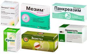 препараты панкреатина